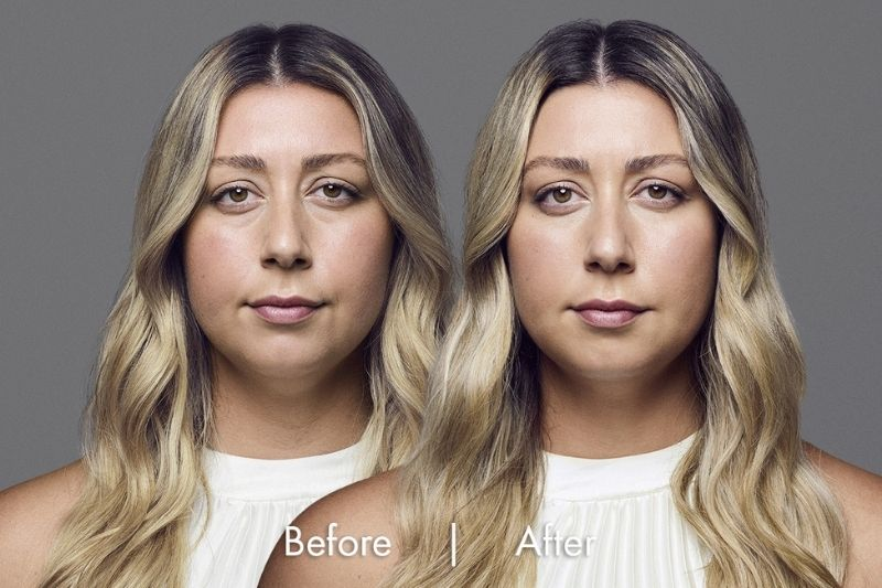 Before and after of services that deliver results